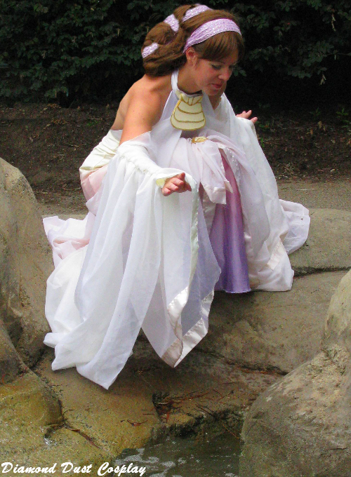 Diamond Dust Cosplay: Padme Amidala, Lake Dress